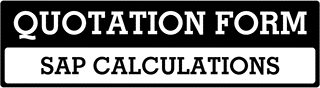 SAP Calculations Quote  For Lidlington
